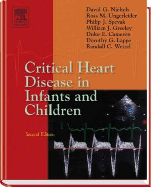 Portada del libro Critical Heart Disease in Infants and Children, 2nd Edition