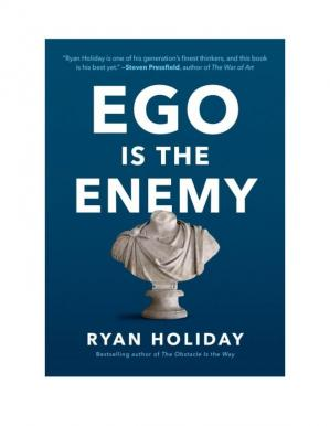 Book cover Ego is the Enenmy