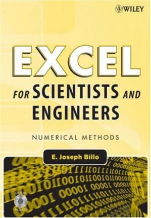 Portada del libro Excel for Scientists and Engineers - Numerical Methods