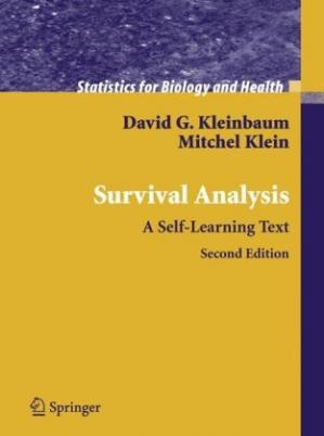 Book cover Survival Analysis: A Self-Learning Text