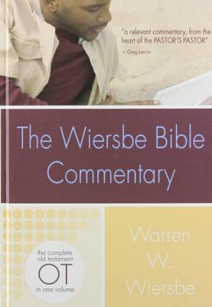 पुस्तक कवर The Wiersbe Bible Commentary: Old Testament