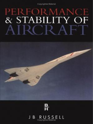 A capa do livro Performance and Stability of Aircraft