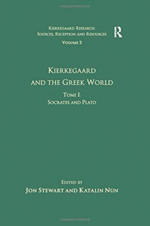 A capa do livro Kierkegaard and the Greek World. Tome I: Socrates and Plato