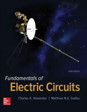 Book cover Fundamentals of Electric Circuits