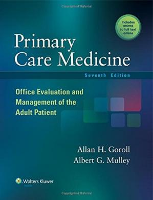 Sampul buku Primary Care Medicine: Office Evaluation and Management of the Adult Patient