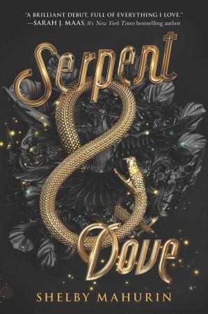 Book cover Serpent & Dove