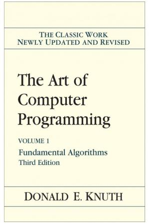 Book cover The Art of Computer Programming, Vol. 1: Fundamental Algorithms, 3rd Edition