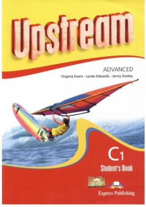 Book cover Upstream Advanced C1 Student's Book Revised
