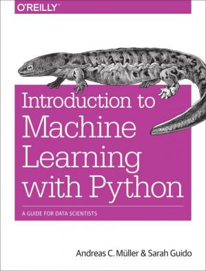 Kitabın üzlüyü Introduction to Machine Learning with Python: A Guide for Data Scientists