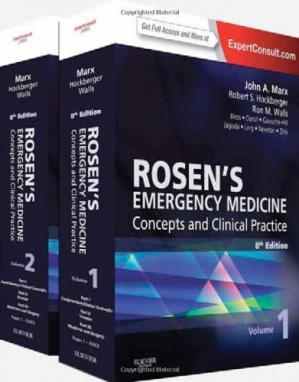 Book cover Rosen's Emergency Medicine - Concepts and Clinical Practice
