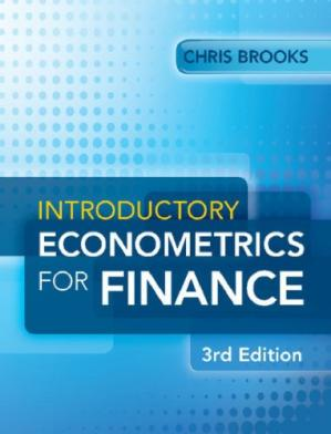 Book cover Introductory Econometrics for Finance