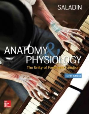 Book cover Anatomy & Physiology.  The Unity of Form and Function