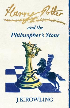 Book cover Harry Potter and the Philosophers Stone (UK edition)