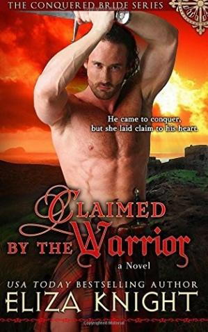 Book cover Claimed by the Warrior