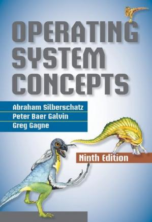 Book cover Operating System Concepts