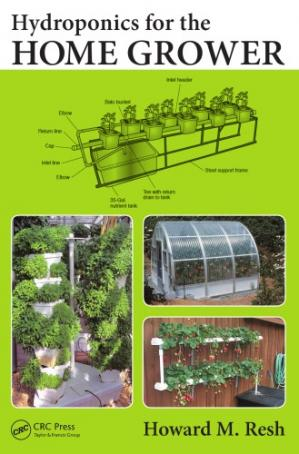 पुस्तक कवर Hydroponics for the home grower