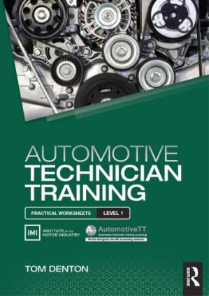 Book cover Automotive technician training : practical worksheets level 1
