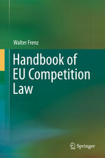 Book cover Handbook of EU Competition Law