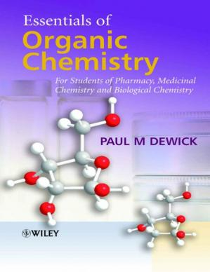 Book cover Essentials of Organic Chemistry: For Students of Pharmacy, Medicinal Chemistry and Biological Chemistry