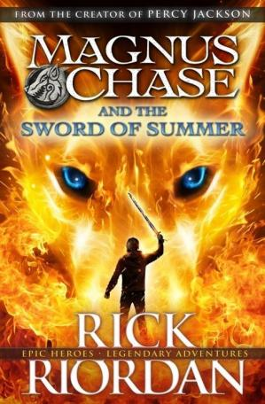 Book cover Magnus Chase and the Sword of Summer