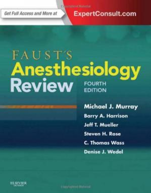 Copertina Faust's Anesthesiology Review