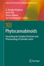 Book cover Phytocannabinoids: Unraveling the Complex Chemistry and Pharmacology of Cannabis sativa