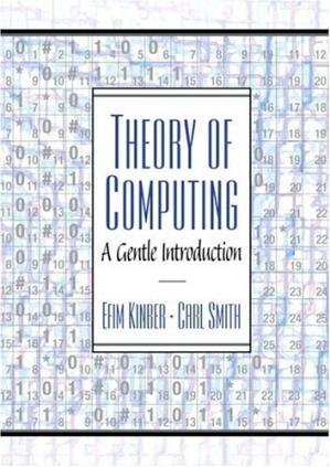 Book cover Theory of Computing: A Gentle Introduction