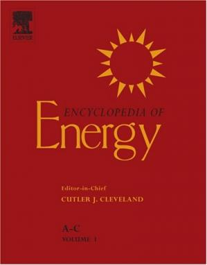 Book cover Encyclopedia of Energy, Six-volume set