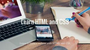 Copertina Learn HTML and CSS: Learn to build a website with HTML and CSS