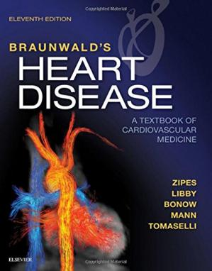 Okładka książki Braunwald's Heart Disease: A Textbook of Cardiovascular Medicine, Single Volume