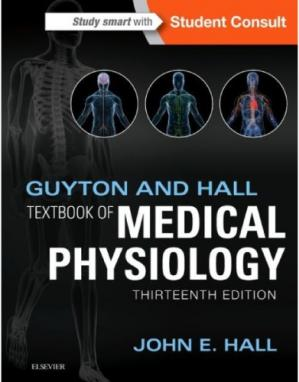 పుస్తక అట్ట Guyton and Hall Textbook of Medical Physiology