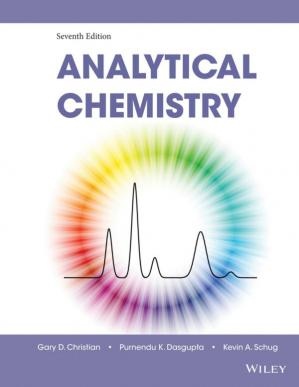 Book cover Analytical Chemistry