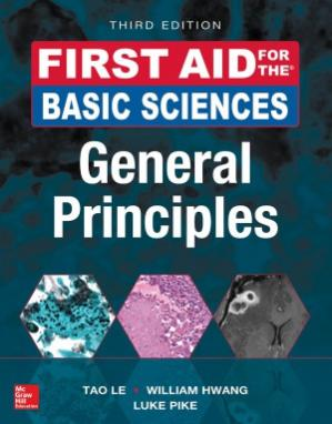 Book cover First Aid for the Basic Sciences. General Principles