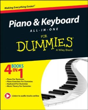 Book cover Piano and Keyboard All-in-One For Dummies