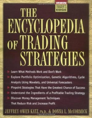 Book cover The encyclopedia of trading strategies
