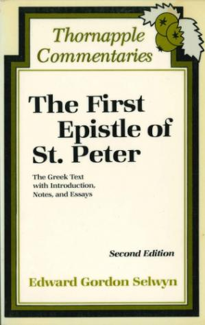 غلاف الكتاب The First Epistle of St. Peter