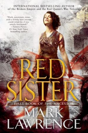 Book cover Red Sister