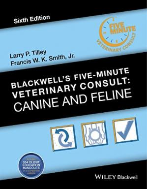 Book cover Blackwell's Five-Minute Veterinary Consult: Canine and Feline