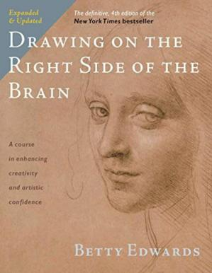 Book cover Drawing on the Right Side of the Brain, 4th edition