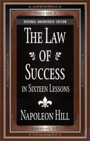 Portada del libro The Law of Success In Sixteen Lessons (2 Volume Set)
