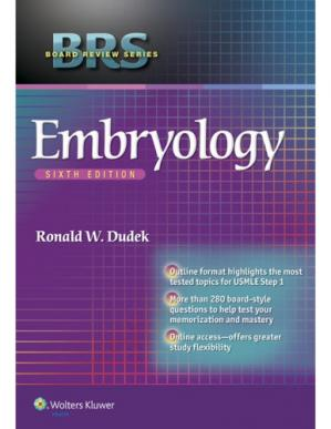 Book cover BRS Embryology