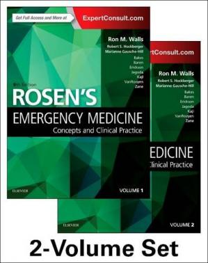 Buchdeckel Rosen's Emergency Medicine: Concepts and Clinical Practice