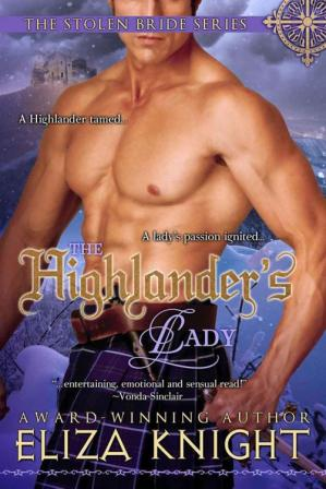 Book cover The Highlander's Lady