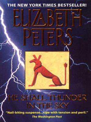 Book cover He Shall Thunder in the Sky
