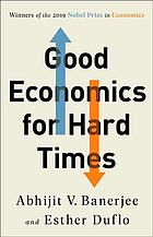 表紙 Good Economics For Hard Times