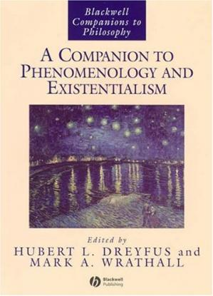 Book cover A Companion to Phenomenology and Existentialism