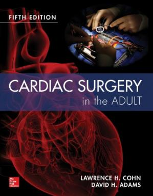 Book cover Cardiac Surgery in the Adult