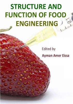 A capa do livro Structure and Function of Food Engineering