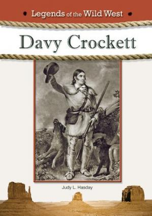 Book cover Davy Crockett (Legends of the Wild West)