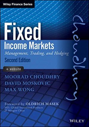 Couverture du livre Fixed Income Markets: Management, Trading and Hedging